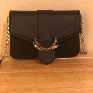 Top shop black bag, used once!